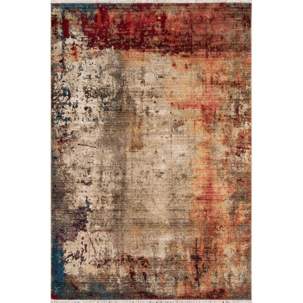 Metcalf Beige Area Rug by Williston Forge