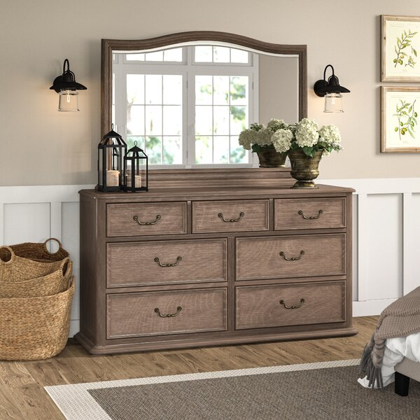 Calila 7 Drawer Dresser with Mirror by Foundry Select
