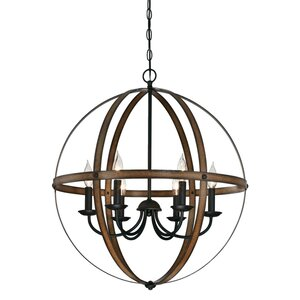 Joon Indoor 6-Light LED Candle Style Chandelier