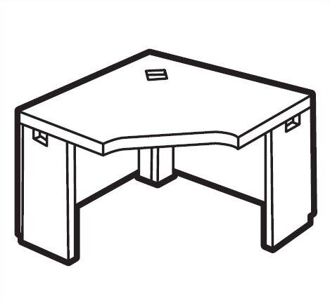 Correlation Corner Executive Desk by Global Total Office