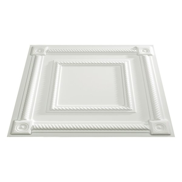 Coffer 2 ft. x 2 ft. Lay-In Ceiling Tile in Matte