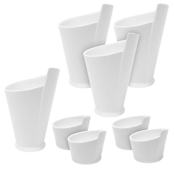 8 Piece Fry Cup and Sauce Dish Set by Maxwell & Williams