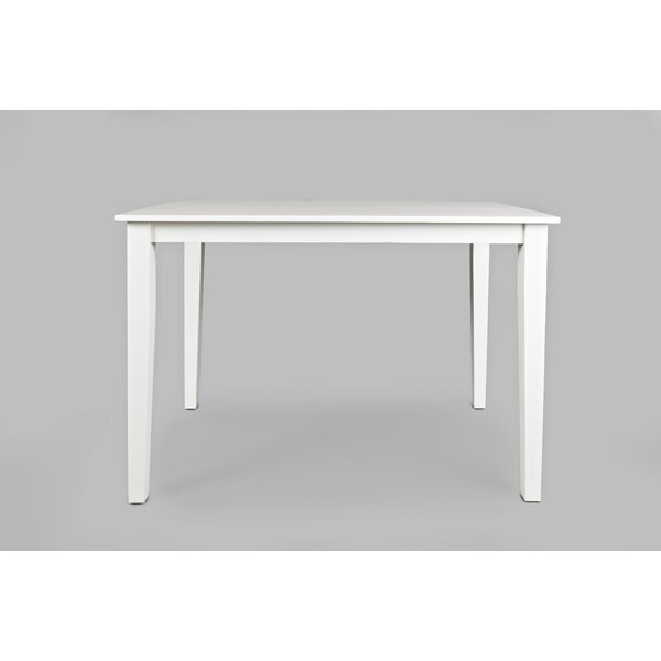 Newport Wooden Counter Height Dining Table by Highland Dunes