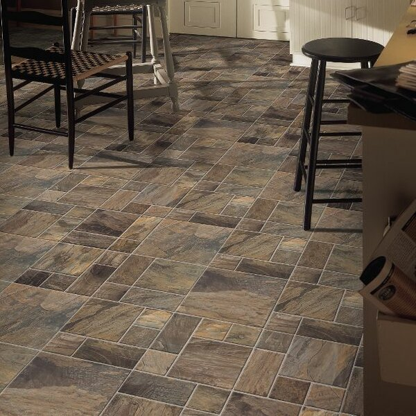 Stones and Ceramics 15.945 x 47.756 x 8mm Tile Laminate Flooring in Porto Alegre Glacier by Armstrong Flooring