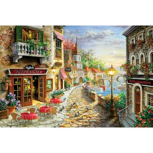'Invitation to Dine' Painting Print on Canvas by East Urban Home