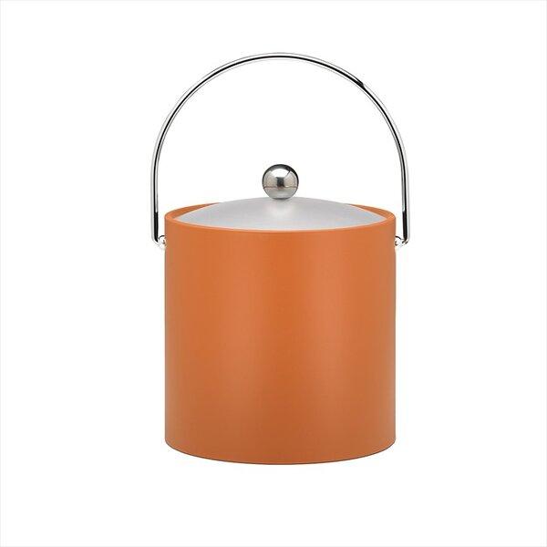 Binegar 3 Qt Ice Bucket in Spicy Orange by Langley Street