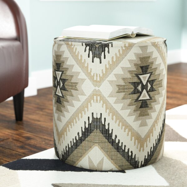 Bergenline Pouf Ottoman By Wrought Studio