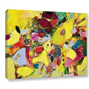Bumble Painting Print on Wrapped Canvas by Latitude Run
