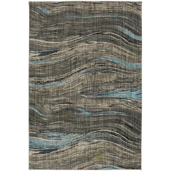 Muse Gunmetal Gray Area Rug by Mohawk Home