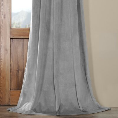 Darby Home Co Balone Solid Max Blackout Thermal Pinch Pleat Single Curtain Panel Wayfair