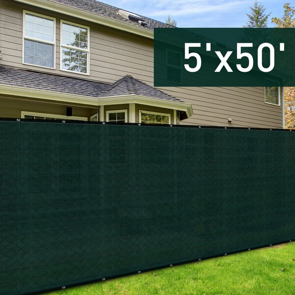 Sun Shade Backyard Privacy Screen by Outsunny