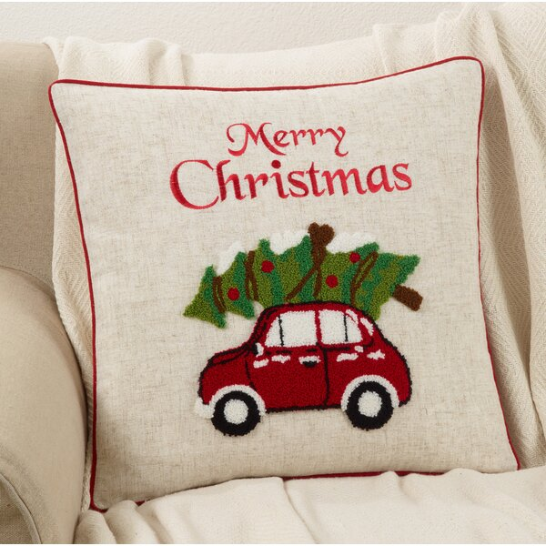 Bolden Car Design Throw Pillow by The Holiday Aisle