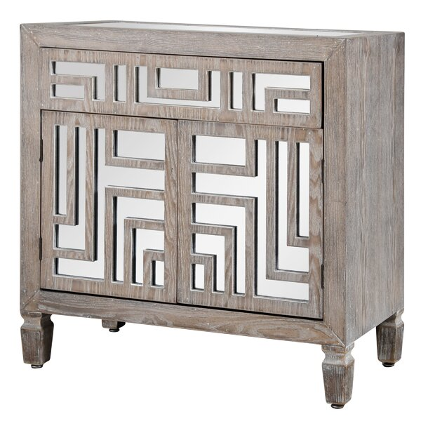 Maarten 2 Door Accent Cabinet by Bungalow Rose Bungalow Rose