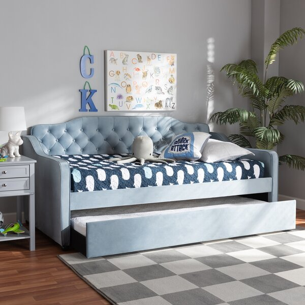 Adoniram Twin Daybed With Trundle By Latitude Run