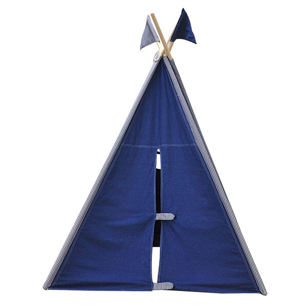 Denim Play Teepee with Carrying Bag by Asweets