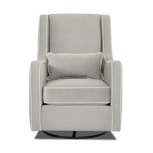 Dalmatia Swivel Rocker Glider by Darby Home Co