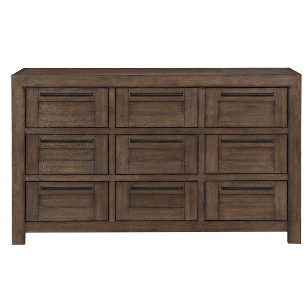 Depalma Triple 9 Drawer Dresser by Foundry Select