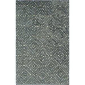Ackworth Kilim Hand Woven 100% Wool Gray Area Rug