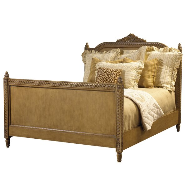 Sparta King Bed Vieux Bois Finish by Canora Grey