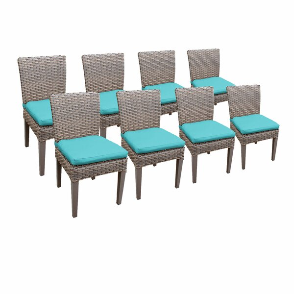 Romford Patio Dining Chair With Cushion (Set Of 8) By Sol 72 Outdoor