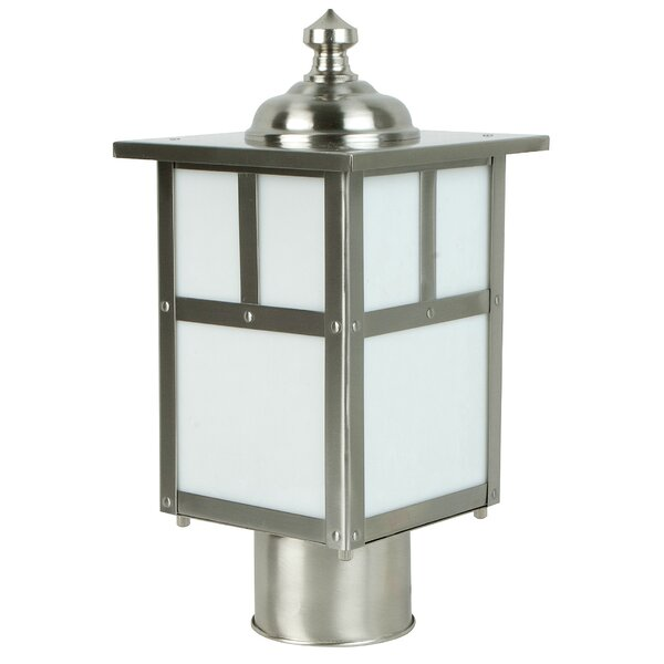 Oakhill 1-Light Steel Lantern Head by Charlton Home