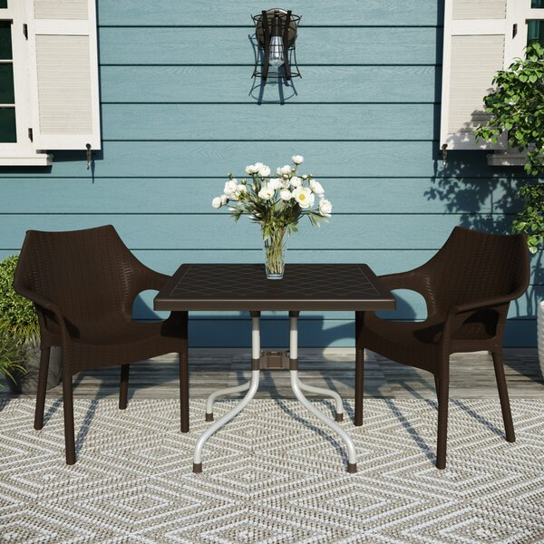 Slezak Patio 3 Piece Bistro Set by Brayden Studio
