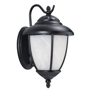 Affordable Price Atisha 100W 1-Light Outdoor Wall Lantern By Red Barrel Studio