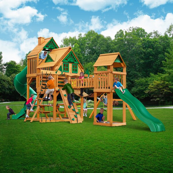Treasure Trove I Treehouse Swing Set by Gorilla Playsets