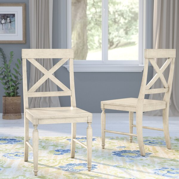 Liza Solid Wood Dining Chair (Set of 2) by August Grove