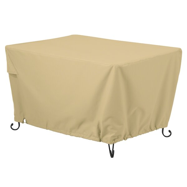 Jelani Rectangular Fire Pit Table Cover by Freeport Park