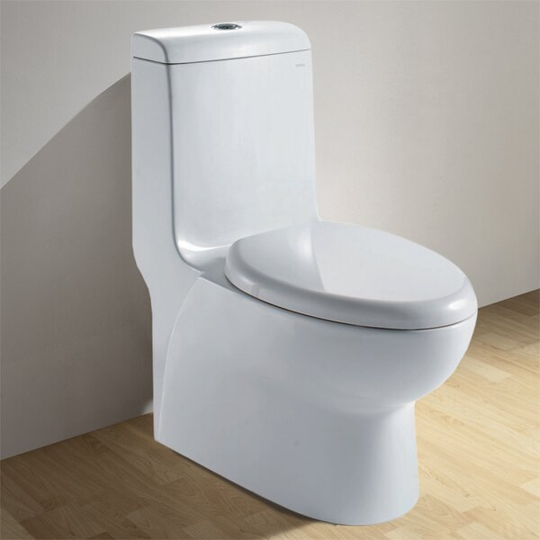 Royal Dual Flush Elongated One-Piece Toilet by Ariel Bath