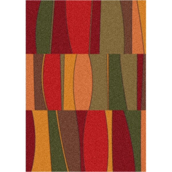 Modern Times Red Area Rug by Milliken