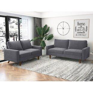 2 Pieces Velvet Living Room Set by Corrigan Studio®