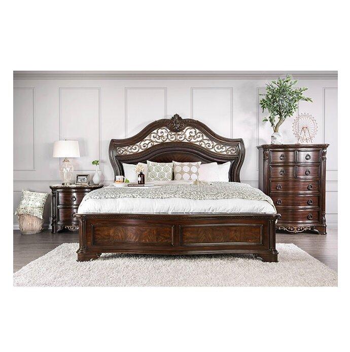 Astoria Grand Madeleine California King Standard Configurable Bedroom Set Reviews Wayfair