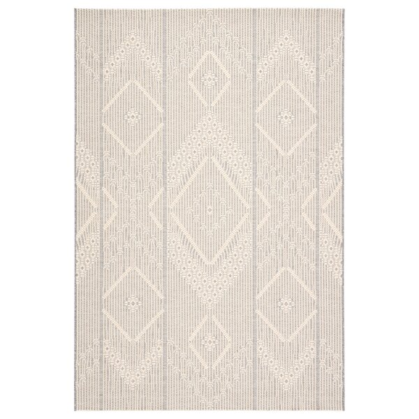 Orrwell Tribal Gray/Beige Indoor/Outdoor Area Rug by Gracie Oaks