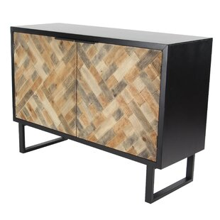 Great Price Cholet Modern Weave-Style 2 Door Accent Cabinet ByBloomsbury Market