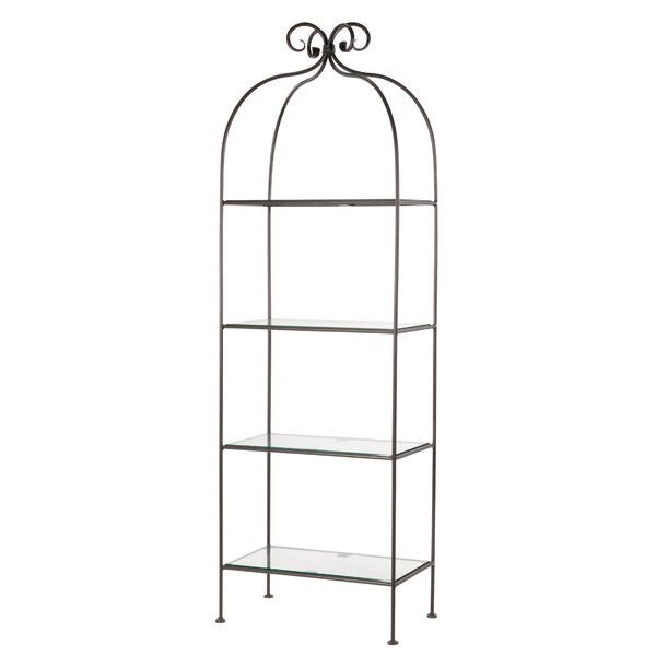 Churchill 4 Tier Corner Unit Bookcase by Fleur De Lis Living