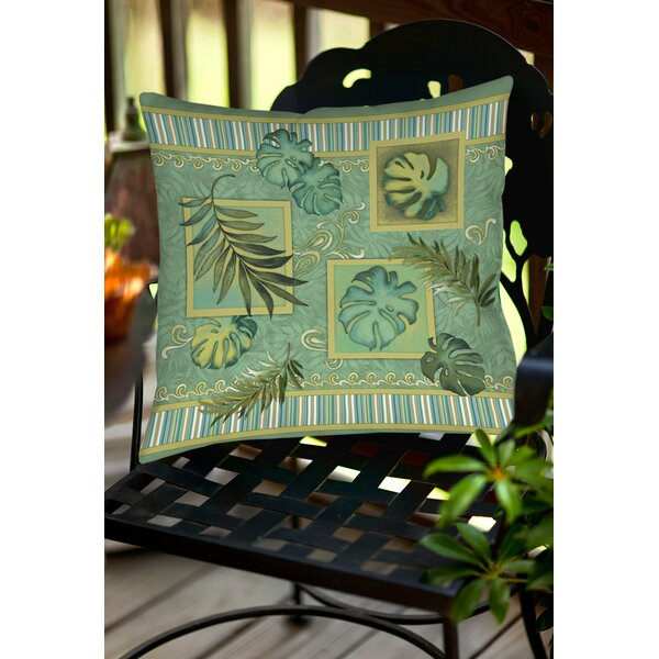 Tropic of Cancer Indoor/Outdoor Throw Pillow by Manual Woodworkers & Weavers
