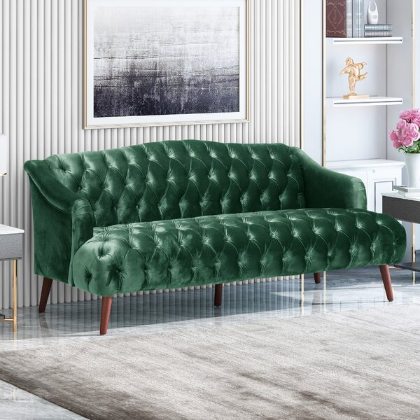 New Collection Starkey Sofa by Rosdorf Park by Rosdorf Park