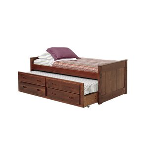 Reviews Twila Twin L-Shaped Bed with Trundle ByHarriet Bee