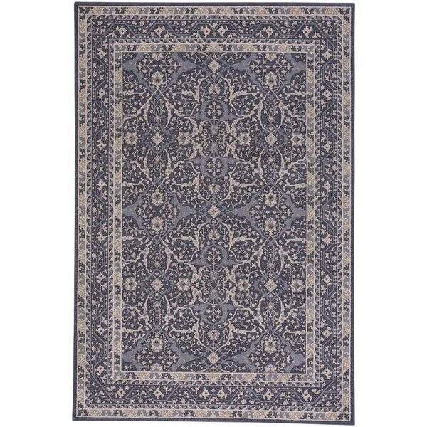 Westerlo Ziegler Wool Blue Area Rug by Darby Home Co