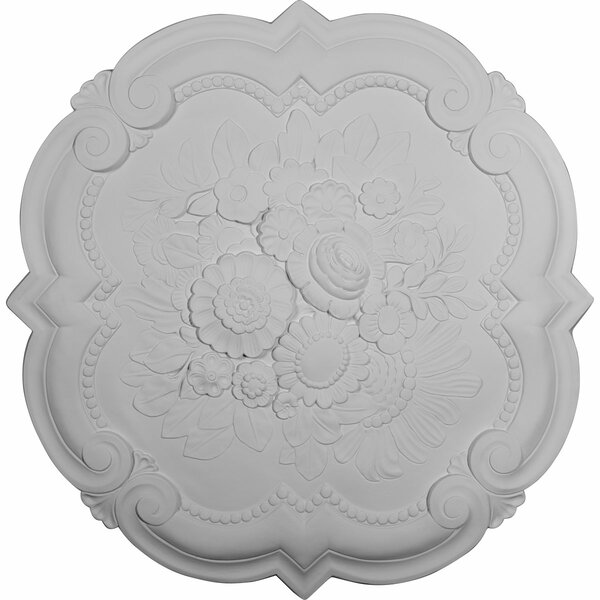 Victorian 24 3/8H x 24 3/8W x 1D Ceiling Medallion by Ekena Millwork