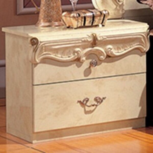 Straitson 2 Drawer Nightstand by Astoria Grand