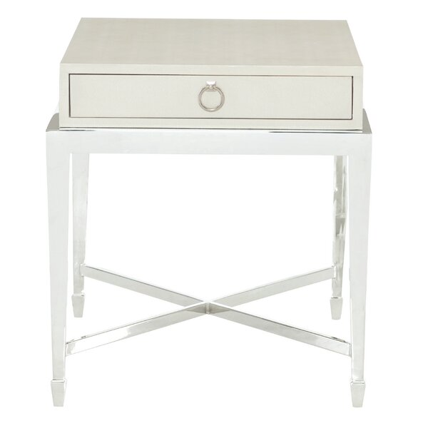 Criteria End Table with Storage by Bernhardt