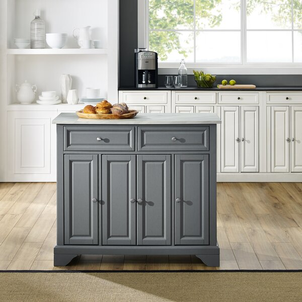 Bingen Kitchen Island by Canora Grey
