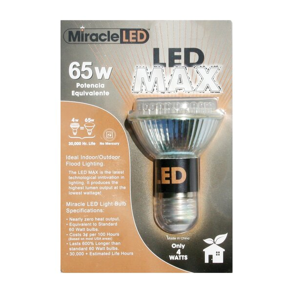 65W (6500K) LED Light Bulb by Miracle LED