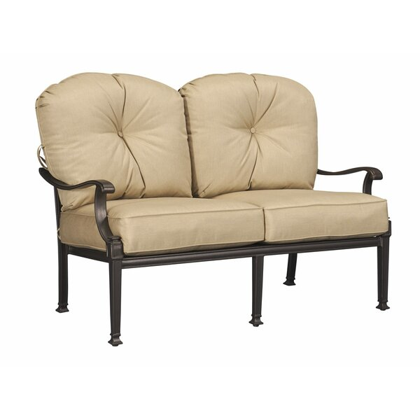 Orrville Loveseat with Cushions by Alcott Hill
