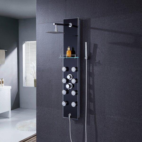 Pressure Balanced Rain Shower Head Shower Panel by Luxier