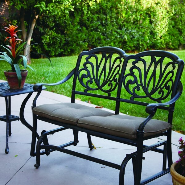 Kristy Glider Bench by Darby Home Co