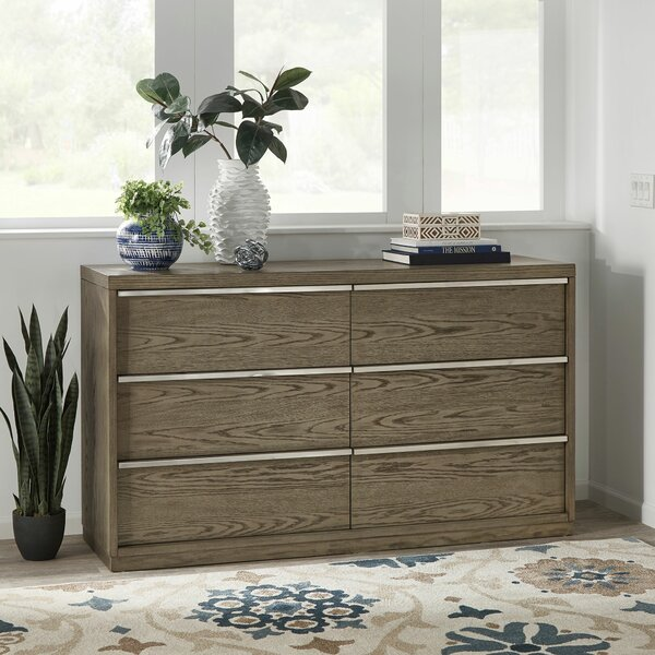 Duquette 6 Drawer Dresser by Mercer41